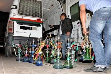 إيقاف 170 شخصا وإغلاق محلات خلال مداهمة مقاهي «الشيشة» والقمار بفاس