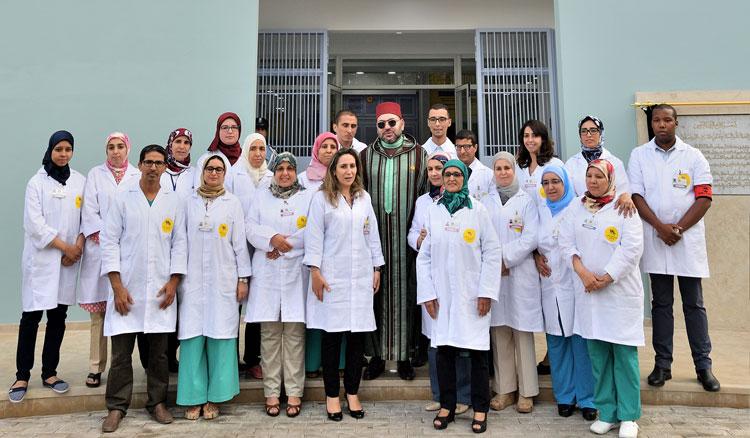 الملك محمد السادس يدشن مركزا للعلاجات الصحية بالدارالبيضاء