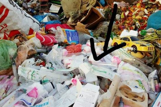 مصحات بآسفي تحرق نفاياتها الطبية وترمي بحقن وضمادات ملوثة في الشارع