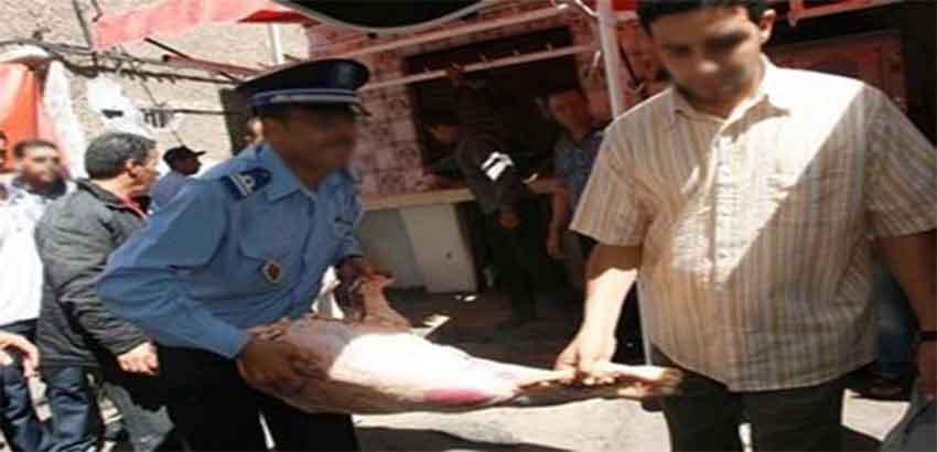 الحبس النافذ لجزار وشقيقه اتهما بترويج لحوم فاسدة بأسواق الصويرة