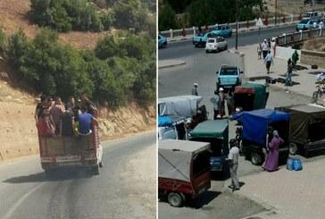 عربات مجرورة بالدواب وسيارات نقل و«تريبورتورات» تهدد بسيناريو مجزرة طنجة في شوارع تازة