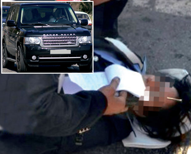سائقة «رونجر روفر» حاولت دهس شرطية والفرار بعد مخالفتها قانون السير بالرباط
