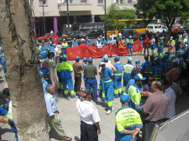 صورة اتهامات لموظفين بشركة الدار البيضاء للخدمات بمنح 11 مليارا لشركة «سيطا بلانكا» لقاء جمعها مخلفات مواد البناء
