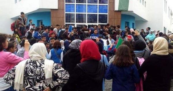 احتجاج 240 تلميذا بمراكش بسبب إجبارهم على تعلم الألمانية بعد دراسة الإنجليزية الموسم الماضي