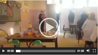 بالفيديو…تلاميذ بأسفي يفاجئون أستاذهم ويحتفلون بعيد ميلاده في القسم