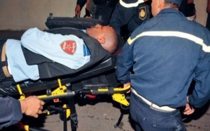 مبحوث عنه بسيدي سليمان يهاجم الأمن ويصيب مفتش شرطة بسيف