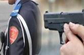 إطلاق الرصاص على شخصين هاجما زوجين وحاولا طعن شرطي بآسفي