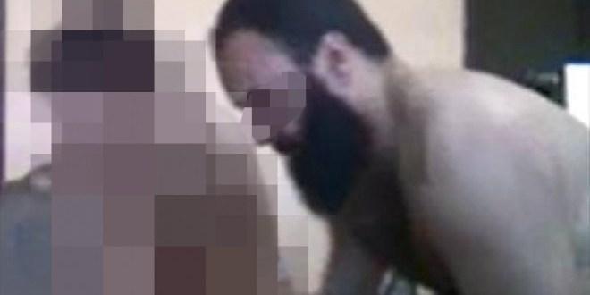 فيديو مثير لشيخ بسيدي سليمان يمارس شذوذه فوق السطح على طفلة