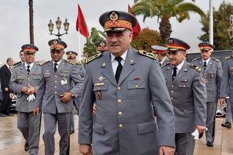 صورة الجنرال حرمو يعين حرسا جديدا من كبار الضباط في مواقع المسؤولية بالقيادة العليا للدرك