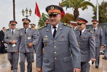 الجنرال دوديفيزيون محمد حرمو  يعفي القائد الجهوي للدرك بالجديدة
