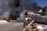 تفاصيل فاجعة الطريق السيار…وفاة ستة مسافرين بينهم عسكريان وسائحة أجنبية قضوا حرقا