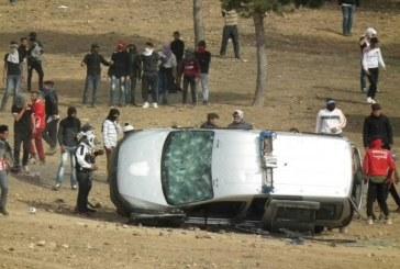 جرادة…ملثمون يرشقون الأمن بالحجارة ويحرقون سيارات القوات العمومية واعتقال 9 أشخاص ولا قتلى ضمن المحتجين