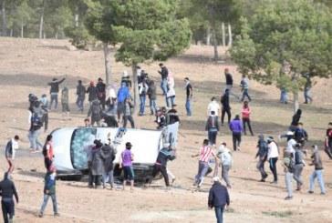 حرق 5 سيارات للأمن واعتقال 9 أشخاص.. هذه حصيلة يوم دام بجرادة