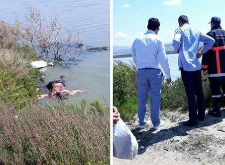 صورة العثور على جثة شخص مرمية في واد بمارتيل –صورة-