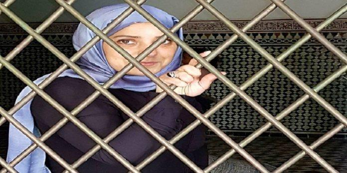 صورة إطلاق سراح أمل الهواري ونجلي المحامي زيان