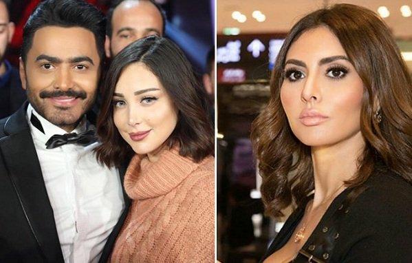 صورة هل تحرض مريم حسين بسمة بوسيل على زوجها تامر؟