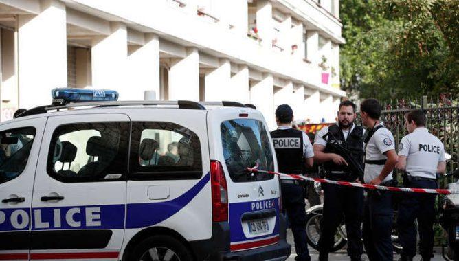 صورة قتيل وجريحان في عملية طعن بفرنسا