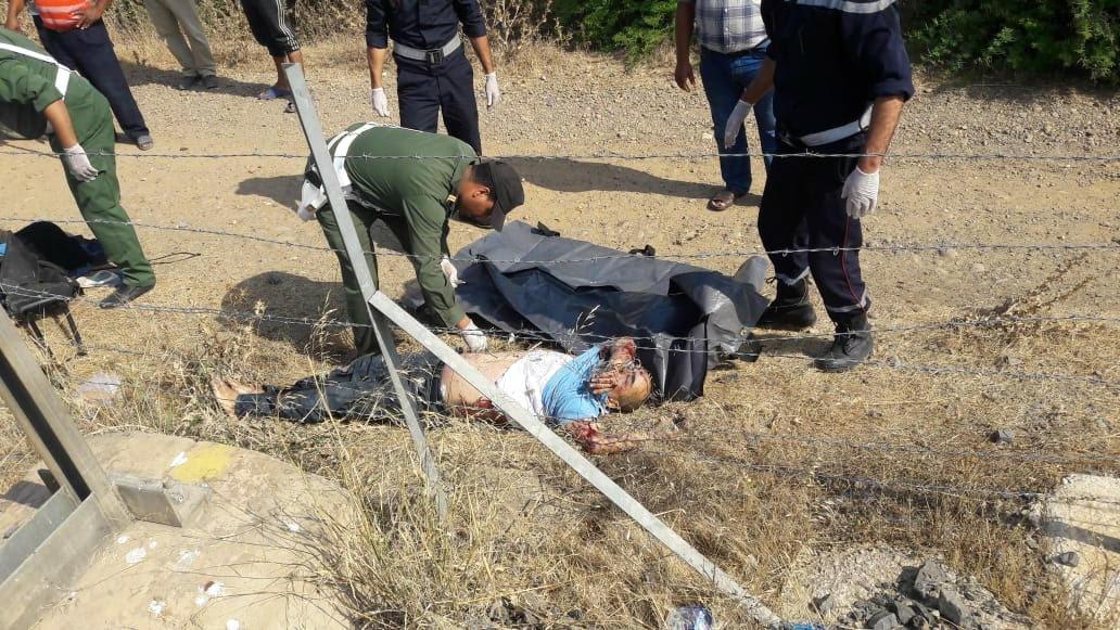 صورة أستاذ يسقط من القطار ومستخدمون يعثرون على جثته بعد خمس ساعات من البحث