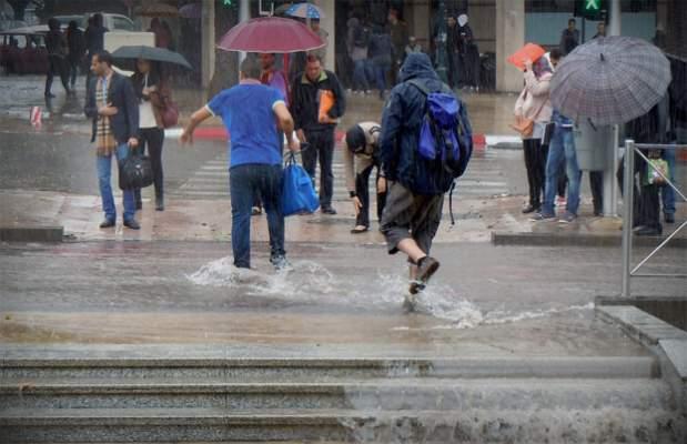 صورة تساقطات مطرية عاصفية بهذه المدن إلى غاية هذا التاريخ