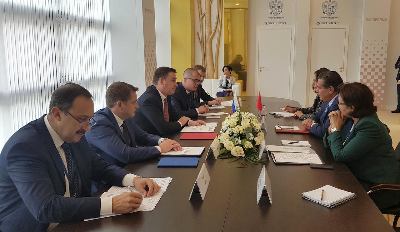 صورة روسيا.. أخنوش يناقش آفاق تعزيز التعاون في الفلاحة والصيد البحري