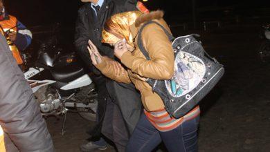 صورة اعتقال فاعلة جمعوية بتهمة اختطاف مولودة بالصخيرات