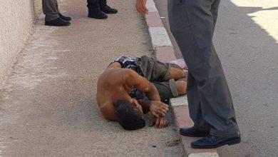 صورة إطلاق الرصاص في مواجهة بين الشرطة و«مشرملين» بسطات