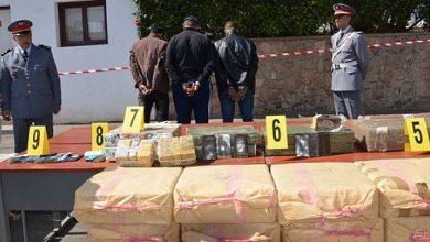صورة حجز أكثر من 30 كيلوغراما من الكوكایین داخل شركة للأنابيب بجماعة الشلالات