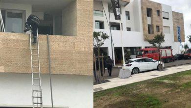 صورة حريق في مارينا سلا بسبب تماس كهربائي والساكنة تتهم المطاعم التي لا تحترم شروط السلامة