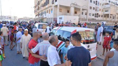 صورة حافلة سياحية تحدث أضرارا مادية جسيمة بمارينا طنجة بسبب الفرامل