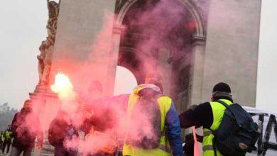 """صورة عدوى """"السترات الصفراء"""" تصل بلجيكا والشرطة تعتقل العشرات"""