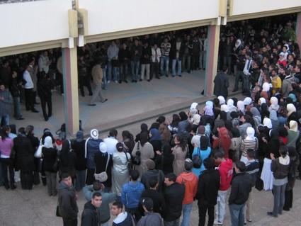 صورة استياء في صفوف طلبة الماستر بسبب حرمانهم من التسجيل بسلك الدكتوراه بسلا