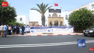 صورة الأساتذة الباحثون ينقلون احتجاجاتهم إلى الرباط للزيادة في أجورهم