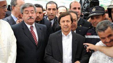صورة اعتقال سعيد بوتفليقة ورئيسي المخابرات في العهد السابق