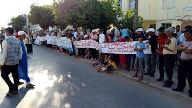 صورة سكان الصفيح بسيدي يحيى الغرب يطالبون بالسكن اللائق
