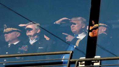 صورة ترامب : أوقفت الهجوم على إيران قبل انطلاقه بـ 10 دقائق