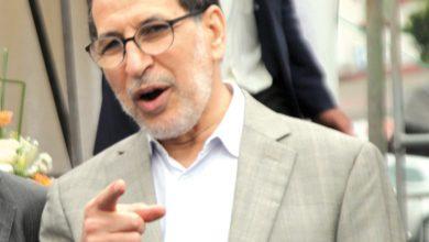 صورة العثماني يدافع عن حصيلة حكومته بـ«الضحكة الصفراء»