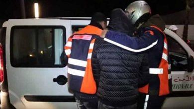 صورة أمن البيضاء يوقف شخصا قام باختطاف سيدة واحتجازها