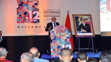 """صورة بالصور.. الطالبي العلمي يؤكد جاهزية المغرب لاستضافة """"الألعاب الإفريقية"""""""