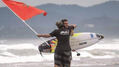صورة راكب أمواج مغربي يخلق المفاجأة ويتأهل للألعاب الأولمبية بطوكيو