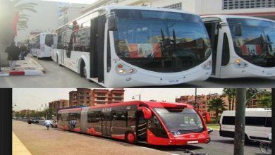 صورة سلا.. توقيف 3 أشخاص بسبب التحريض على تخريب الحافلات الجديدة
