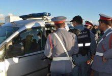 صورة توقيف المشتبه فيه في جريمة اختطاف وقتل الطفلة نعيمة