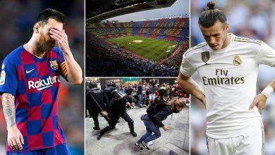 صورة أحداث كتالونيا تؤجل مباراة الكلاسيكو الإسباني