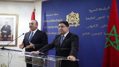 صورة هكذا رد أوغلو على عزم المغرب مراجعة الاتفاق التجاري مع تركيا