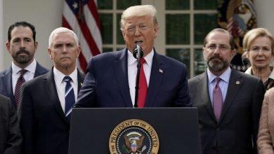 صورة ترامب يعلن حالة الطوارئ لمواجهة كورونا وأكثر من 20 مليون أمريكي قد يحتاجون العلاج