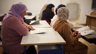 صورة بعد إغلاق المساجد..دروس محاربة الأمية عن بعد