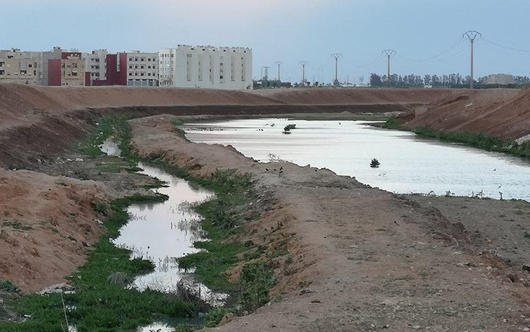 صورة مياه الصرف الصحي تهدد سكانا ببرشيد