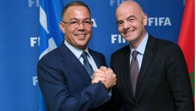 صورة «الفيفا» يضع رهن المغرب خطته للعودة إلى الممارسة الكروية