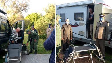 صورة السلطات تقدم مساعدات لسياح بمولاي بوسلهام