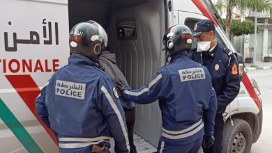 صورة أمن سلا يطيح بشابين استغلا الطوارئ لسرقة مدفع أثري