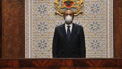 صورة فيروس كورونا يدخل إلى البرلمان
